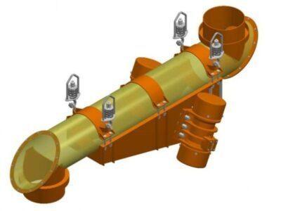 Вібраційний трубковий живильник З електромагнітним приводом тип PWRb