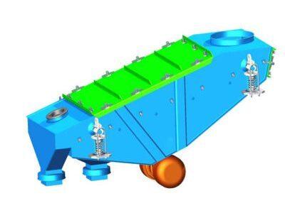 Inertial vibrating screen type PWb