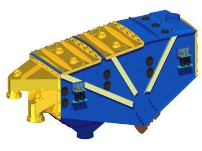 Przesiewacz wibracyjny liniowy bezwładnościowy typ 2PWb