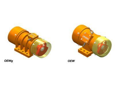 Elektrowibratory bezwładnościowe typ OEWg – OEW – MVE