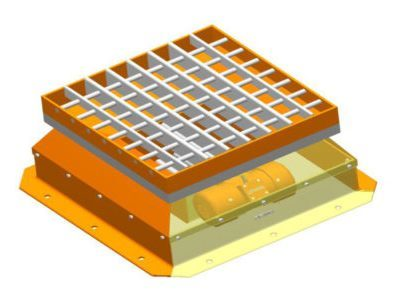 Vibrating grid type KW