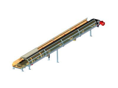Belt conveyor type PT