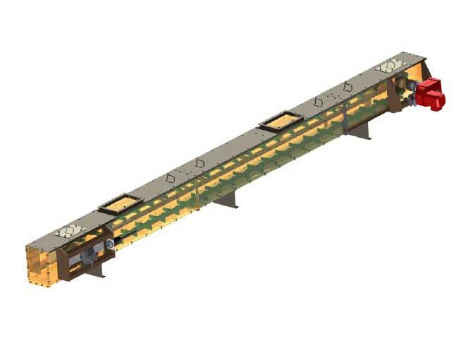 Scraper conveyor type PZ
