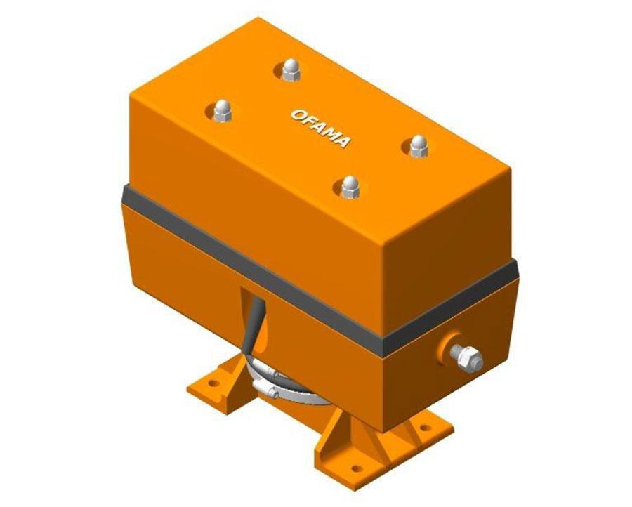 Wibrator elektromagnetyczny typ UOWP