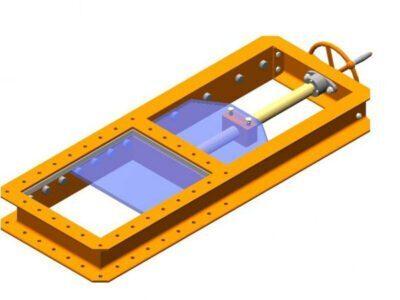 Flat slide gates type ZM – ZR